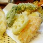 丹波 - ここの天ぷらおいしい