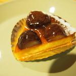 ケーキハウス・アプリコット - 栗のタルト