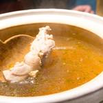 42210284 - スープには既に鶏肉が