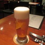 タクティー - サービスの生ビール♪