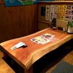 鮨豊 - 掘り炬燵の席も有ります