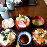 錦鮨 - ランチ三福丼