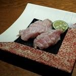 42218821 - 大トロ炙り寿司