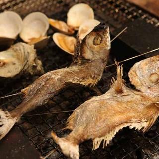 貝・旨魚の炉端焼き