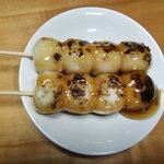 竹泉 - 料理写真:みたらしだんご
