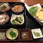 42222205 - 彩三味蕎麦と野菜天麩羅