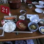 国見温泉 石塚旅館 - 朝食