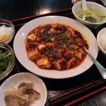四川料理 福楽 - 麻婆豆腐定食