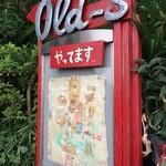Old-s - 201509 Old-s  階段途中にある地図(^-^)/
