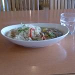 パークサイドキッチン 桜亭 - タイ風グリーンカレー1