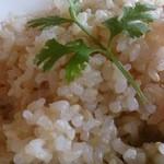 パークサイドキッチン 桜亭 - 五穀米