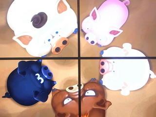 国立民族学博物館特別展示館ミュージアムショップ - 韓国の豚便所体験 しゃがむとう○こが落ちて豚が食べる☆?