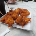 食道楽のカレーぱん - 奥美濃古地鶏の唐揚げ