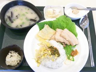 レストランみんぱく(国立民族学博物館) - 白の韓国御膳¥1380(税込)☆♪