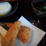 おきな和料理 島々 - スパムカツ、ジーマミー豆腐、もずく