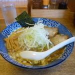 のんべえ食堂 天火 - 酢・山椒ラーメン(白髪ねぎ増し)