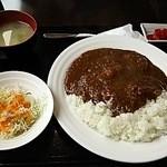 御食事&喫茶 喰亭 - ポークカレー770円