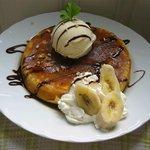 カフェ ラナイ - 料理写真:バナナパンケーキ