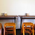 アンバーグラスコーヒー - 店内