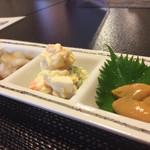 八千代寿司 - 料理写真:お通し