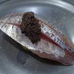 ロティスリー カルトポスタル - サフランライスの寿司