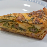 ロティスリー カルトポスタル - オクラと野菜のキッシュ