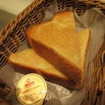 カフェデンマルク - トースト