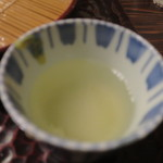 室町砂場 - 蕎麦湯1