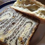 ル・パン・サクレ - こちらも美味しい‼︎ロデブとチョコマーブルのパン♡