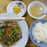 晴華 - ニラレバ炒め