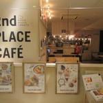 セカンド プレイス カフェ - お店は天神コアの地下2階にありますよ。