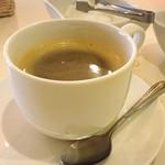 自然の里レストラン - おかわり出来るコーヒー
