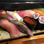 魚道 - 上にぎり ¥1,800