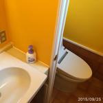 42256062 - カレー色、しっかり手を洗いましょう(^^)