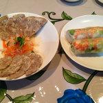 ミス サイゴン - 料理写真:ベトナム南部風ハムと海老・豚肉・生野菜入り生春巻き
