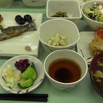 尾瀬ロッジ - 夕食。
