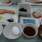 尾瀬ロッジ - 朝食。