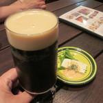 42259728 - 久しぶりの黒ビール