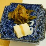 東京吉兆 - 香の物