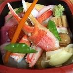 井桁寿司 - 竹チラシ