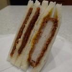 ローソン - 料理写真:厚切りロースカツ&ダブルハムカツ