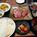 焼肉&酒食楽 凪 - 和牛特選上カルビランチ(限定3食)