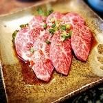 焼肉&酒食楽 凪 - 肉アップ。