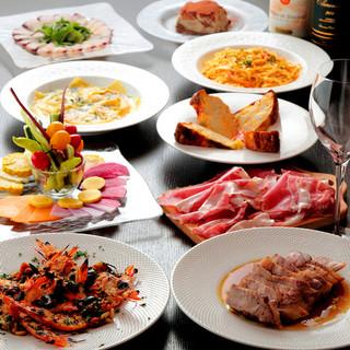 歓送迎会・パーティに♪欧風料理を気軽に楽しむ3コース