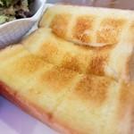 珈琲まさみ - バタートースト