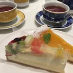 ロビーカフェファシーノ - ケーキセット