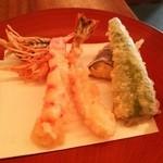 蕎麦 たじま - 巻き海老天