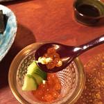 鮨柳屋 - イクラ〜 金粉入り!贅沢〜