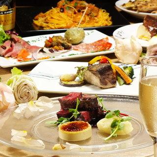いつでも気軽に味わえる本格イタリアンのフルコース「クオーレ」
