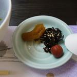 瑠璃京 - お新香